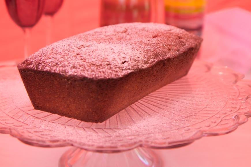Gluten free Elderflower drizzle cake
